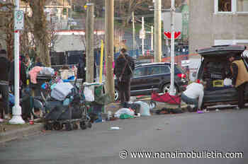 Occupants of Nanaimo's Wesley Street encampment offered support following fire and displacement