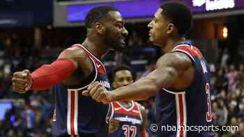 """Emotional Bradley Beal talks about John Wall trade, """"My whole career, all I know is John"""""""