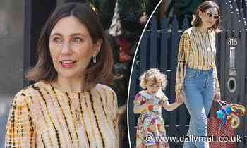 Zoë Foster Blake looks stylish in a $2K outfit as she steps out with daughter Rudy in Melbourne