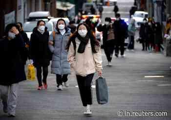 South Korea reports 583 coronavirus cases, off nine-month high - Reuters India