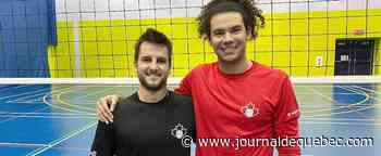 Volleyball: Rémi Cadoret et Gabriel Chancy, de grands rivaux à coéquipiers