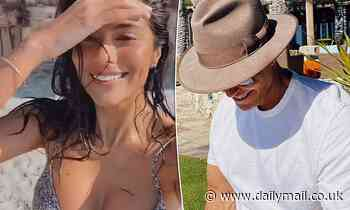 Pia Miller enjoys romantic break in Mexico with her multi-millionaire agent fiancé Patrick Whitesell