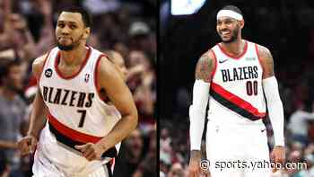 Carmelo Anthony wants Brandon Roy's No. 7 and Trail Blazers fans think he should have it