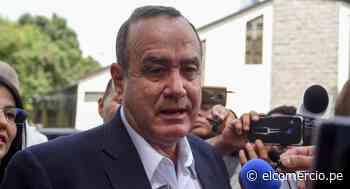 El presidente y el vicepresidente de Guatemala ponen fin a sus disputas - El Comercio Perú
