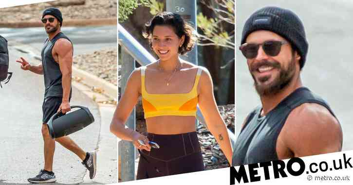 Zac Efron and Vanessa Valladares spark reunion rumours as they're spotted at same gym