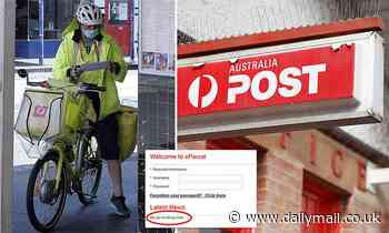 Internet troll targets Australia Post by sharing a VERY unusual message on its website