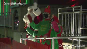 Jamestown kicks off holiday season, lights city Christmas tree