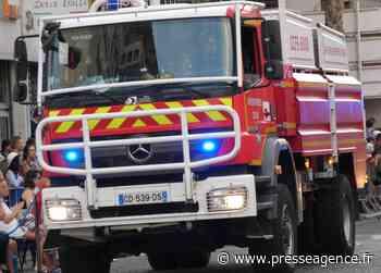 SAINT RAPHAEL : Incendie propagé à la toiture d'une l'habitation - La lettre économique et politique de PACA - Presse Agence