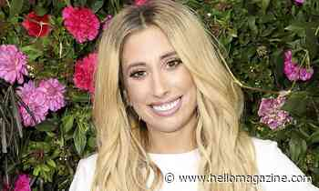 Stacey Solomon shows off her spellbinding handwriting