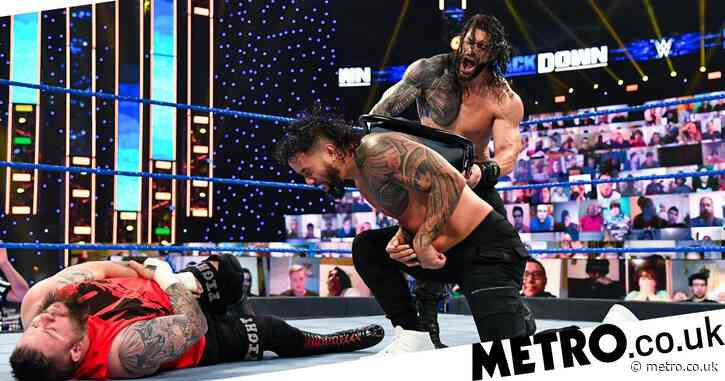 WWE SmackDown results and grades: Roman Reigns destroys Jey Uso and King Corbin aligns with Forgotten Sons