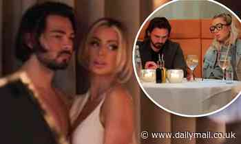 Olivia Attwood wears underwear for photoshoot with Bradley Dack before STORMING out of a restaurant