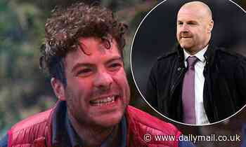 I'm A Celebrity's Jordan North receives message from Burnley manager Sean Dyche