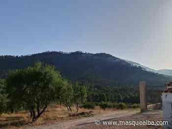 Un rayo provocó el incendio de Ayna, que está perimetrado - Masquealba.com