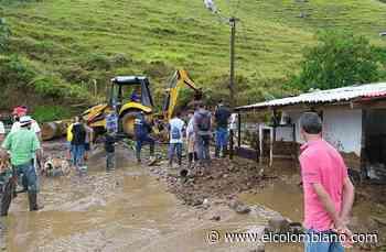 Pueblorrico declaró calamidad pública por fuertes lluvias - El Colombiano