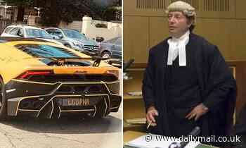 'Playboy' ex-barrister has controversial number plate 'LGOPNR' SEIZED by NSW police