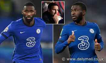 Chelsea 'willing to listen to offers for centre backs Antonio Rudiger and Fikayo Tomori'