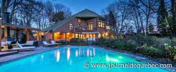 Boucherville: somptueuse propriété architecturale de style méditerranéen