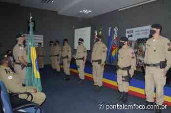 Terceira Companhia Independente da Polícia Militar, em Iturama completa quinze anos e comemora com solenidade militar. - Pontal Emfoco