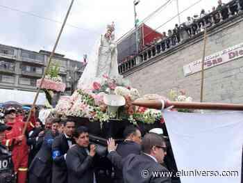 En Azogues se cancela la procesión de la Virgen de la Nube - El Universo