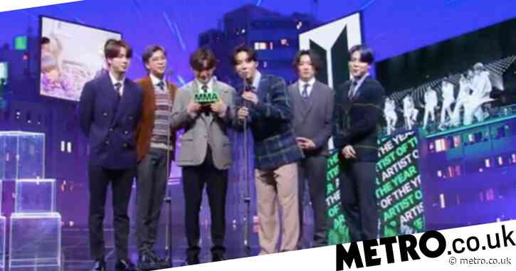 BTS named artist of the year as they sweep Daesangs at Melon Music Awards 2020