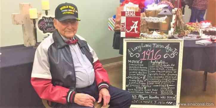 Major Wooten, el veterano de la Segunda Guerra Mundial que superó el covid-19