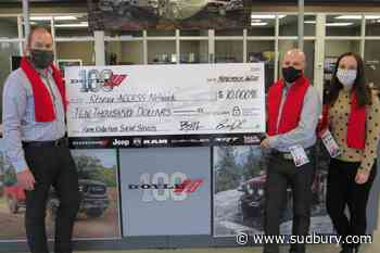 Doyle Dodge supports efforts of Réseau Access to help the homeless