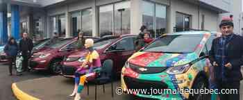 Un homme achète six voitures électriques et en offre cinq en cadeaux