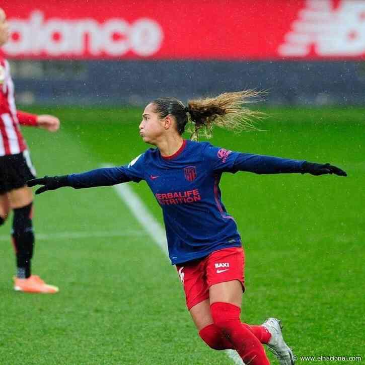 Deyna Castellanos marcó su quinto gol en el empate de su equipo con el Bilbao