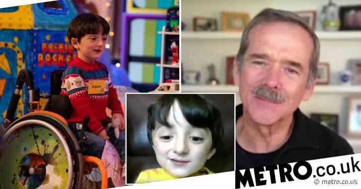 Astronaut Chris Hadfield video chats with space fan Adam King from Late Late Toy Show