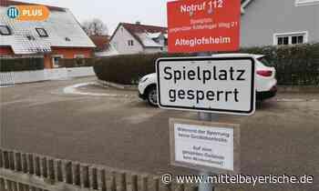 Spielplätze in Alteglofsheim gesperrt - Mittelbayerische