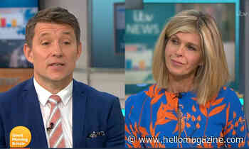 Kate Garraway talks 'pressure' Ben Shephard is facing as he helps her during husband Derek's health battle