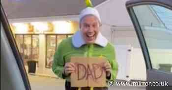 Man dresses as Buddy the elf to meet dad for first time but he hadn't seen film
