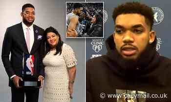 NBA star Karl-Anthony Towns says he's lost seven of his family members to COVID