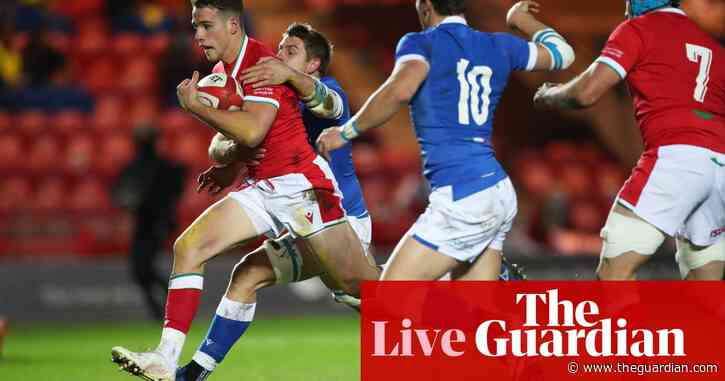 Wales v Italy: Autumn Nations Cup, fifth-place play-off – live!
