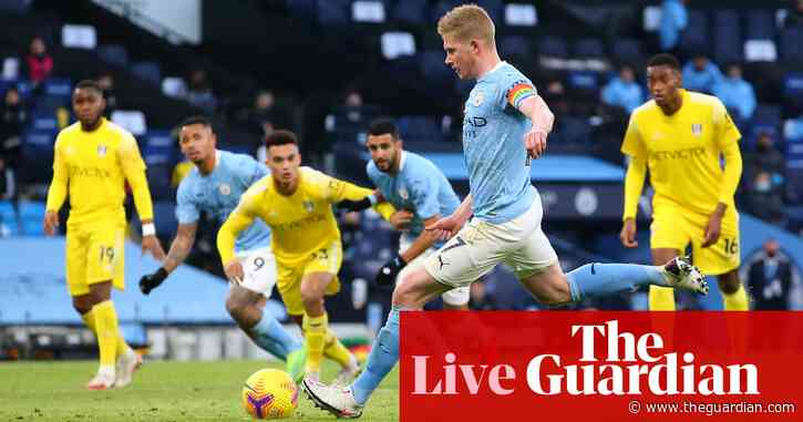 Manchester City 2-0 Fulham, Sevilla v Real Madrid, EFL, WSL and more – live!