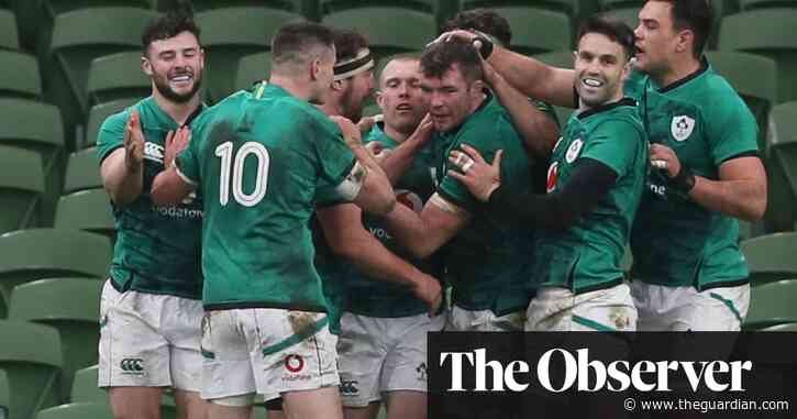 Keith Earls helps Ireland rally to defeat Scotland in Autumn Nations Cup