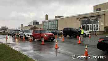 City of Rochester's free drive-up rapid COVID-19 testing underway