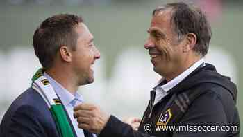 """Bruce Arena, Caleb Porter as rivals? New England, Columbus coaches have """"great relationship"""" 