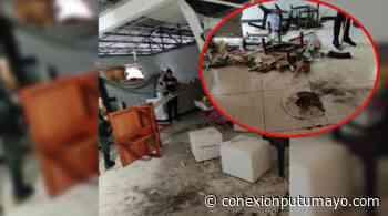Atentan con explosivo contra la estación de policía de Puerto Leguízamo, Putumayo - Conexión Putumayo