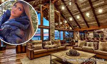Kardashian-Jenner family shell out $6,000 a night on a cabin in Lake Tahoe with 17 bedrooms