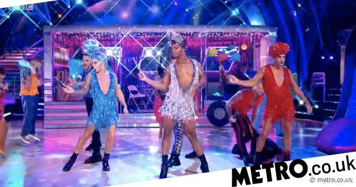 Strictly Come Dancing 2020: Fans praise 'best opening dance ever' as Johannes Radebe 'steals the show' with Priscilla tribute
