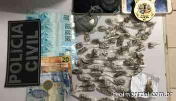 Duas pessoas são presas por tráfico de drogas em Chapadinha - O Imparcial