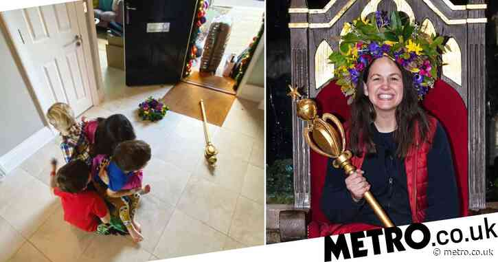I'm A Celebrity 2020: Giovanna Fletcher welcomed home by her kids in the cutest way