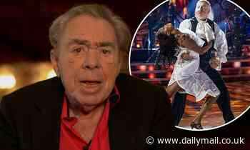 Andrew Lloyd Webber reflects on the 'devastating effect' of COVID-19 on theatres in Strictly cameo