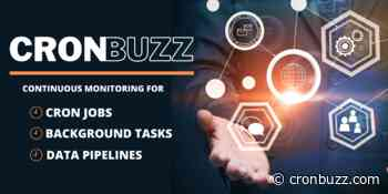 CronBuzz - Simple and Effective Cron Job Monitoring Tool