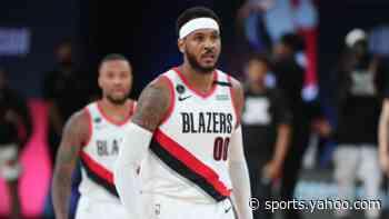 Carmelo Anthony won't take number of beloved Trail Blazer Brandon Roy