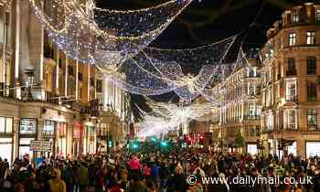 UK in festive spirit as shoppers to spend £965 on presents PER PERSON and tree sales soar
