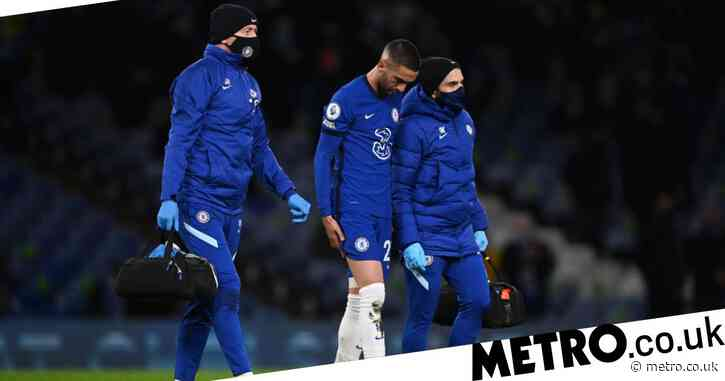 Chelsea manager Frank Lampard provides Hakim Ziyech injury update after Leeds United victory