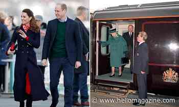 Prince William and Kate Middleton borrowing Queen's royal train to spread festive cheer