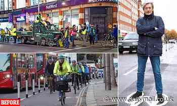 Nigel Havers' outrage over Kensington cycle lanes